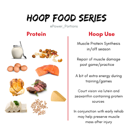 The Basketball Doctors Nutrition: Protein